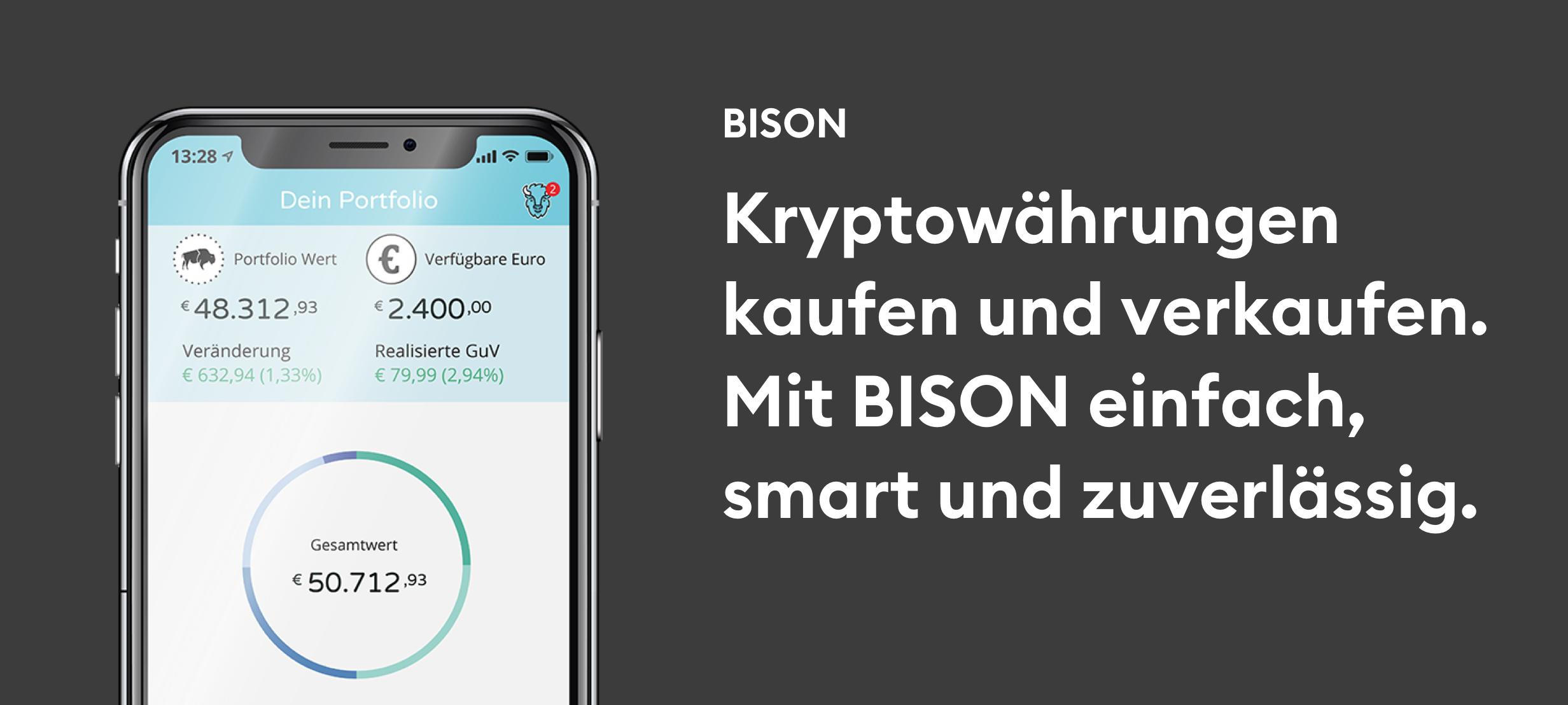 Bison Bitcoin App