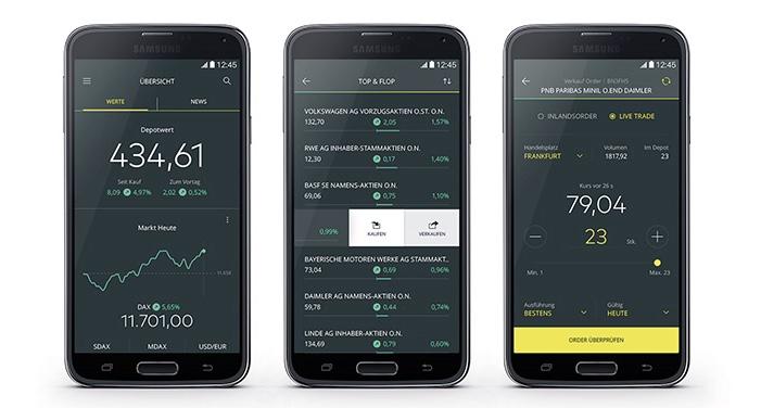 Comdirect Moderne Trading App